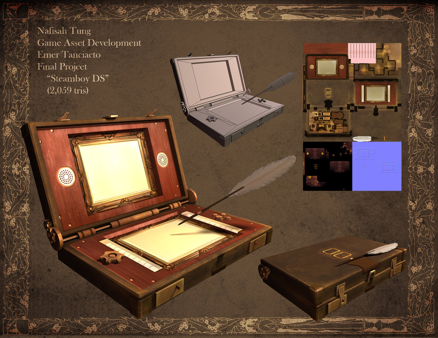 3D- SteamBoy DS by Dyemelikeasunset