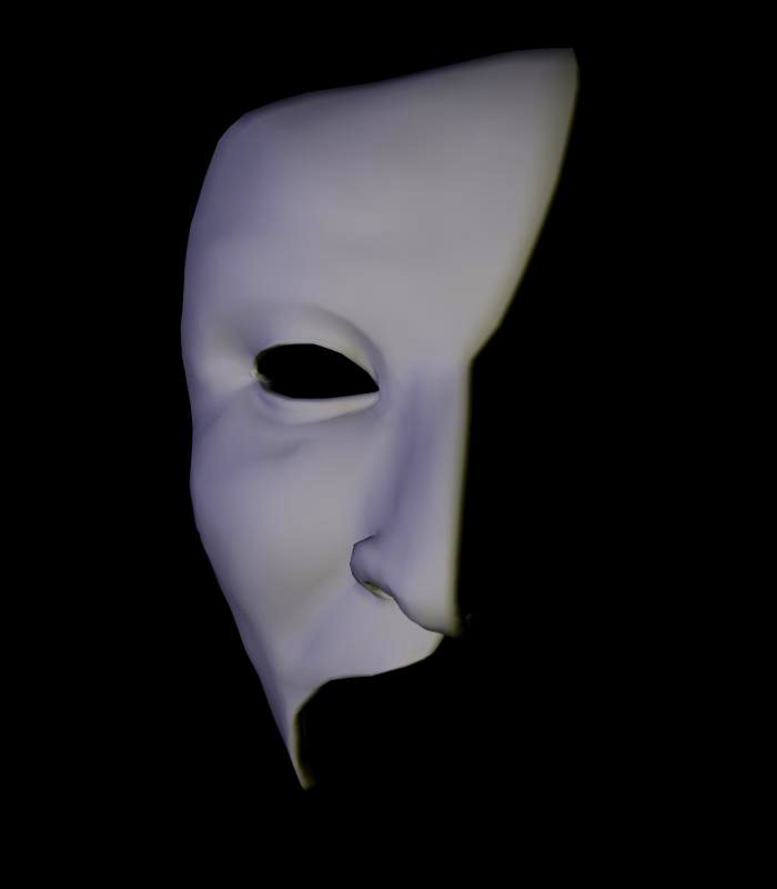 ALW 3d mask 5 by FantomeAngel
