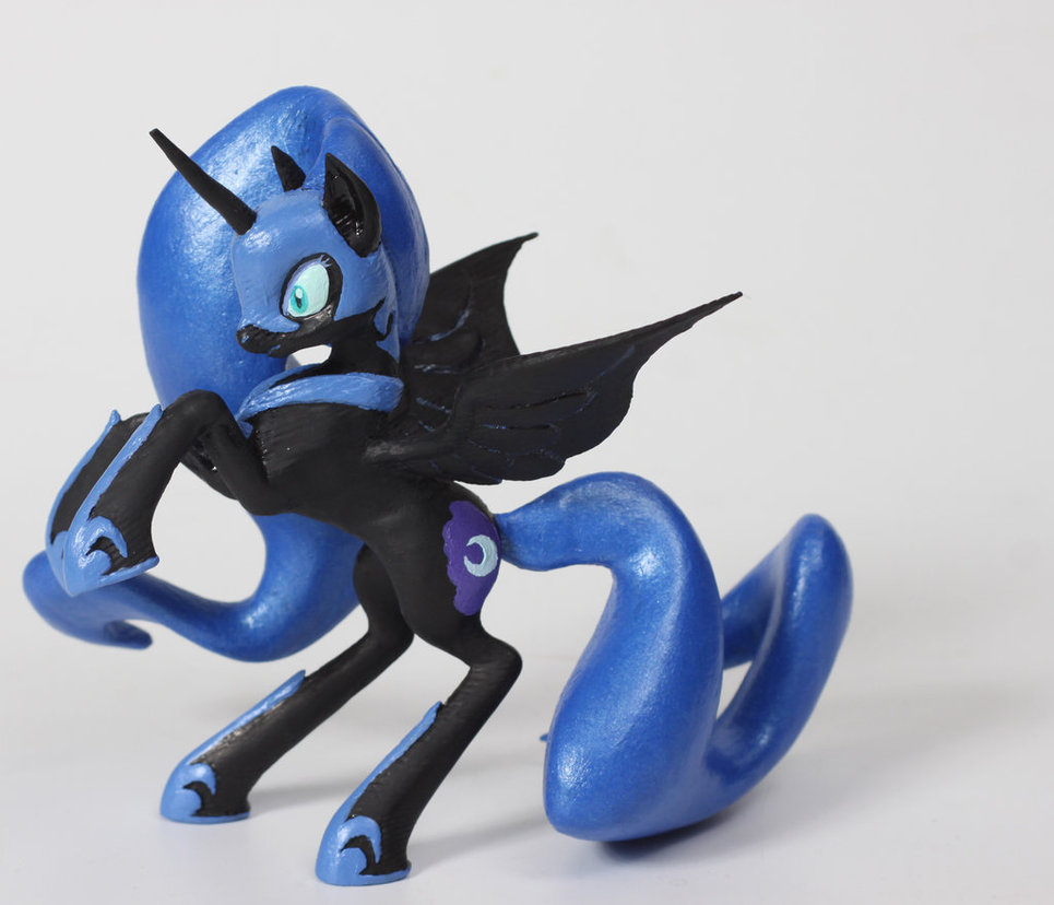 Nightmare Moon 3D Print by Clawed-Nyasu