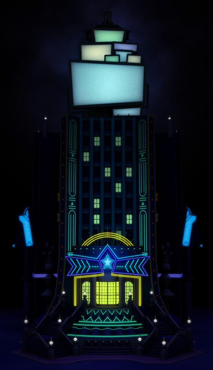 KHII: Memory's Skyscraper 3D by spiyuskazel