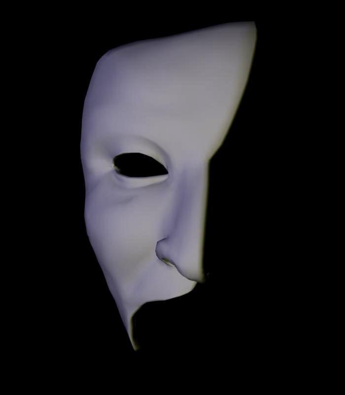 ALW 3d mask 5 by FantomeAngel