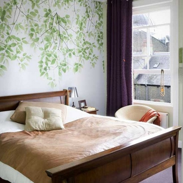 Bedroom Wallpaper Ideas Bedroom Wallpaper Decorating Ideas Fithomedecor - Home Decor Pictures